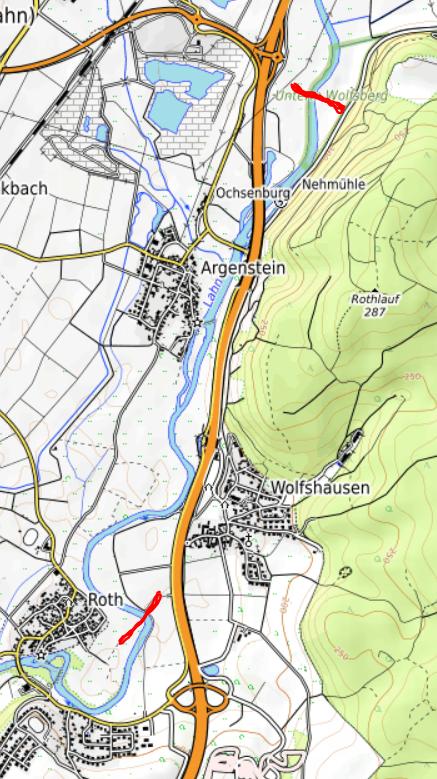 Gewässergrenze Argenstein